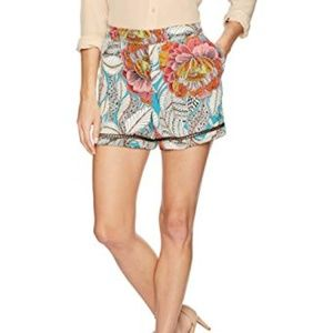 47cbca2decc Trina Turk Shorts - NWT Trina Turk High Waist Silk Bubbly Shorts XS